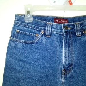 Vintage 100% Cotton High Waisted Mom Jeans